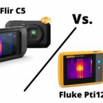 Thermal imaging camera comparison Flir c5 Vs Fluke Pti 120