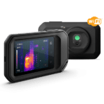 Thermal imaging with Flir C5